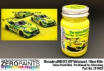 ZEROPAINTS ZP-1492 Mercedes AMG GT3 HTP Motorsport/ Mann Filter, Yellow